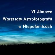 VI Zimowe Warsztaty Astrofotografii wMOA