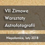 """Astrowarsztaty """"Zima 2018"""""""