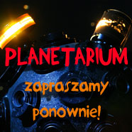 Wracamy dosobotnich seansów wPlanetarium!