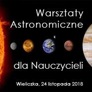 Warsztaty astronomiczne dla nauczycieli