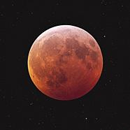 Całkowite zaćmienie Księżyca. Sens woczekiwaniu.