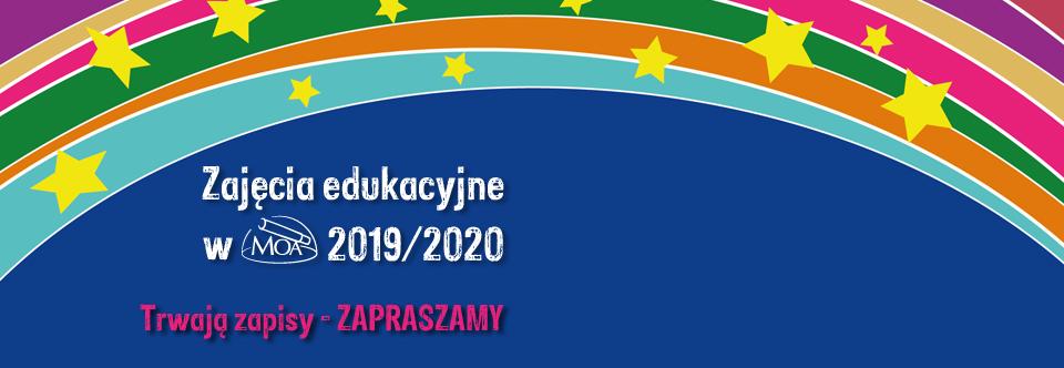 Zajęcia edukacyjne wroku szkolnym 2019/2020
